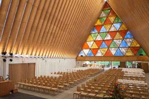 Catedral de Cartón, Nueva Zelanda 2013