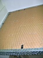 Malla metálica para soporte del cemento