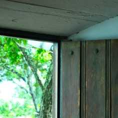 Detalle puerta balcón